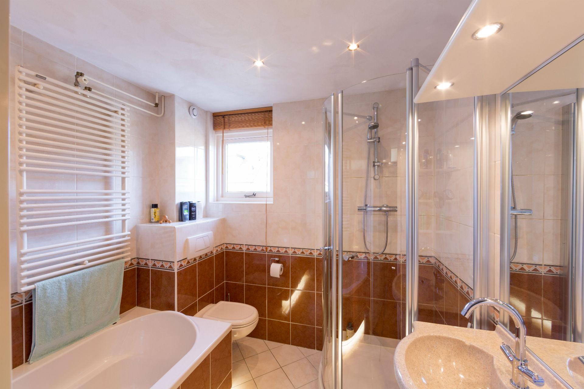 Badkamer voor renovatie
